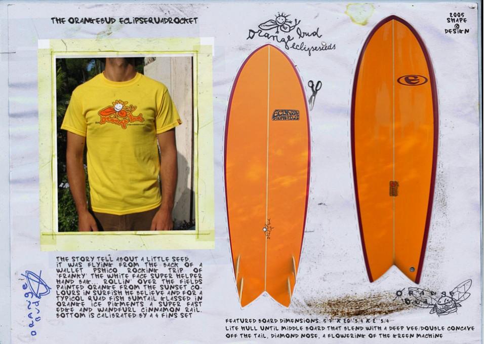 The orange bud