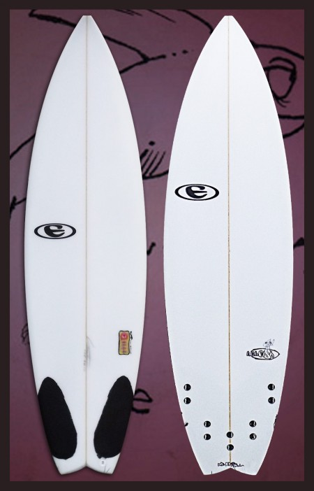 eclipse surfboards hushfish model