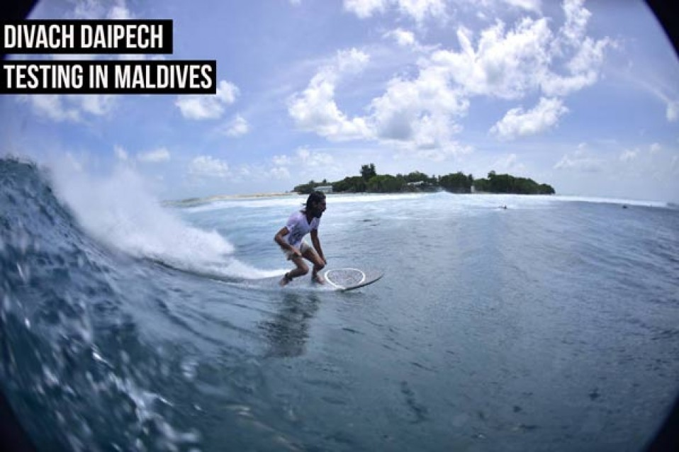 david pecchi in maldives (first photos)