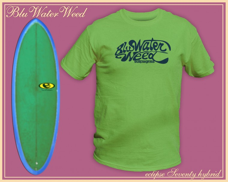 the blu water weed t-shirt