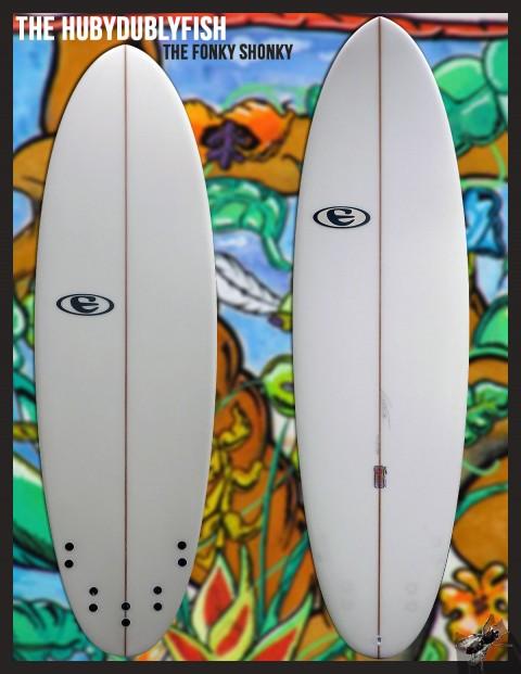 eclipse surfboards HUBY DUBLY FISH (the fonky shonky)