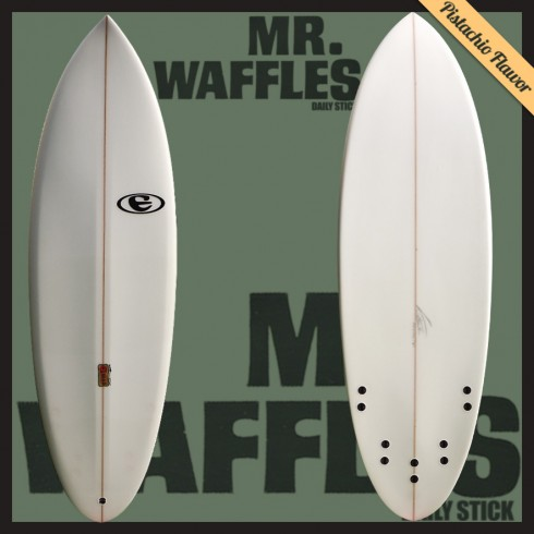 eclipse surfboards shortboard mr.waffles model